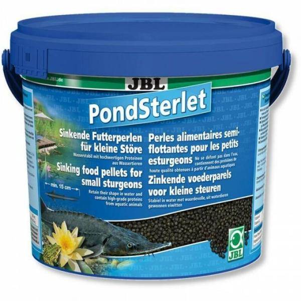 JBL PondSterlet корм для прудовых рыб, 5.5 л