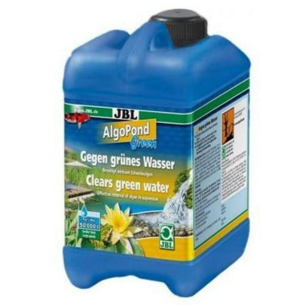 Кондиционер JBL AlgoPond Green для борьбы с плавающими водорослями в садовом пруду