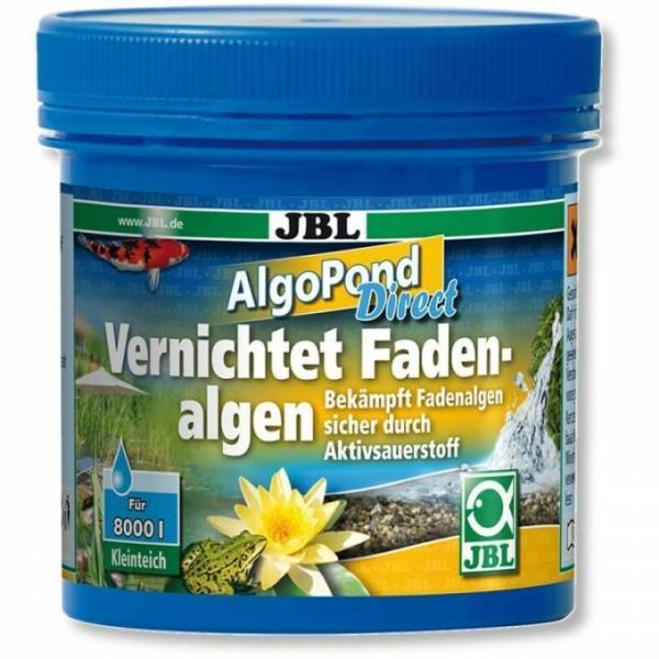 Препарат JBL AlgoPond Direct для эффективной борьбы с нитчатыми водорослями в пруду