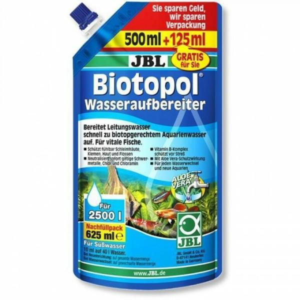 JBL Biotopol Refill, 625 мл (500 мл + 125 мл бесплатно).
