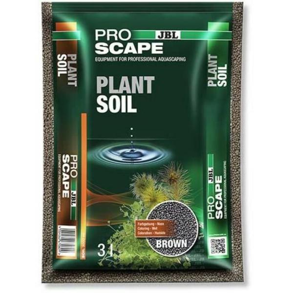 JBL ProScape PlantSoil BROWN питательный грунт для растений, коричневый, 3 л.