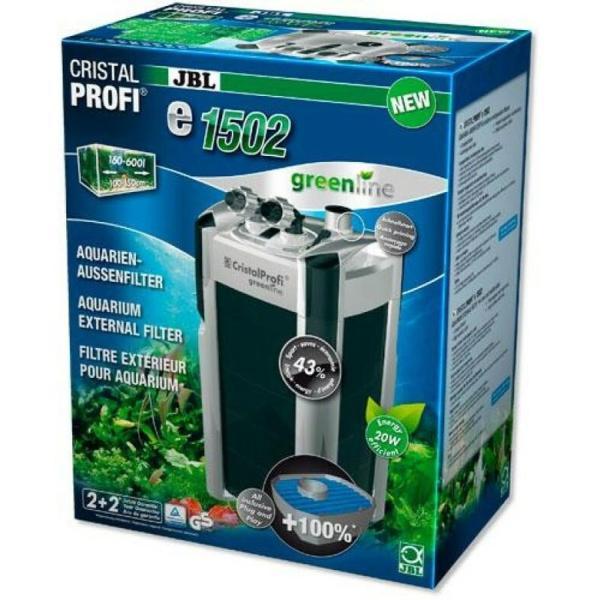 JBL CristalProfi e1502 GreenLine внешний фильтр для аквариума до 700 литров