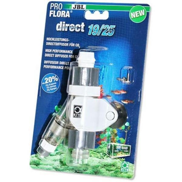 Эффективный непосредственный диффузор для CO2 JBL ProFlora Direct 19/25