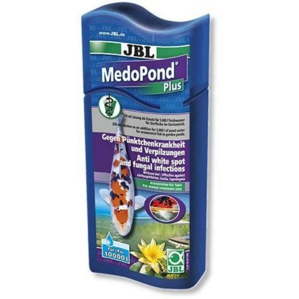 JBL MedoPond Plus препарат против ихтио и грибковых инфекций, 500 мл