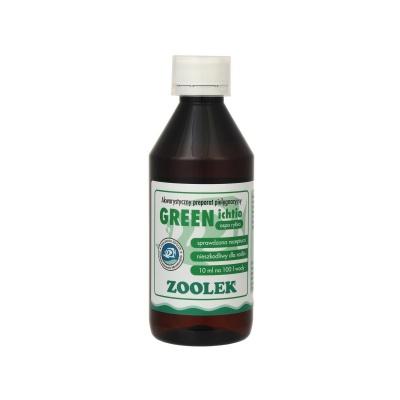 Препарат против ихтиофоноз ZOOLEK Green Ichtio  (ZL0048) 0048 green ichtio 250ml AquaDeco Shop