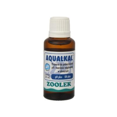 Повышение рН и KH карбонатной жесткости ZOOLEK Aqualkal  (ZL0141) 0141 aqualkal 30ml AquaDeco Shop