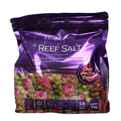 Соль рифовая AQUAFOREST Reef Salt  (739269) 739269 AquaDeco Shop