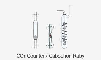Счетчики пузырьков СО2 и клапаны