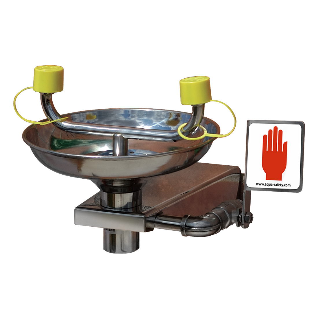 Open Bowl Eye Wash (Stainless)
