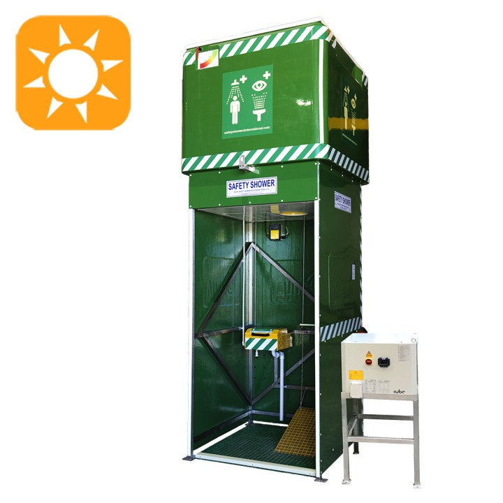 Tank Shower with Water Chiller (Non-Hazardous Areas)