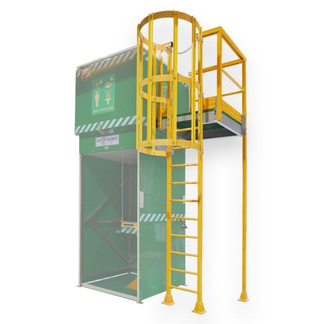 Inspection Ladders for Tank Shower