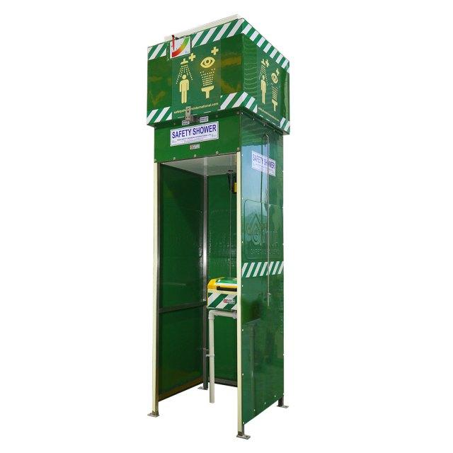 Tank-Fed Eye Wash Station