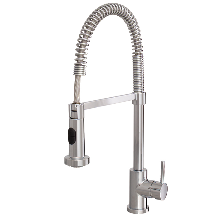 aquabrass pull out dual stream mode kitchen faucet
