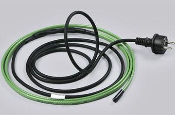 Pag-init ng cable para sa mga pipa