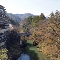 Travel to Hokuriku 5:  Hot spring areas and landscape positions