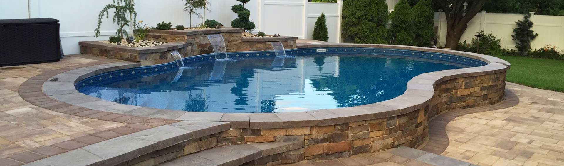 Aquacraft Pools Danvers above ground radiant pool