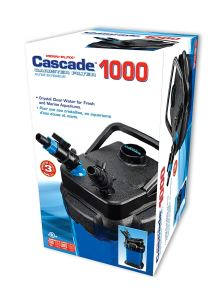Penn Plax Cascade Canister filter review- Boxed