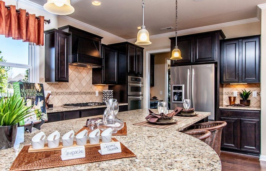 Giallo Ornamental Granite for Warm   Elegant Kitchen Design