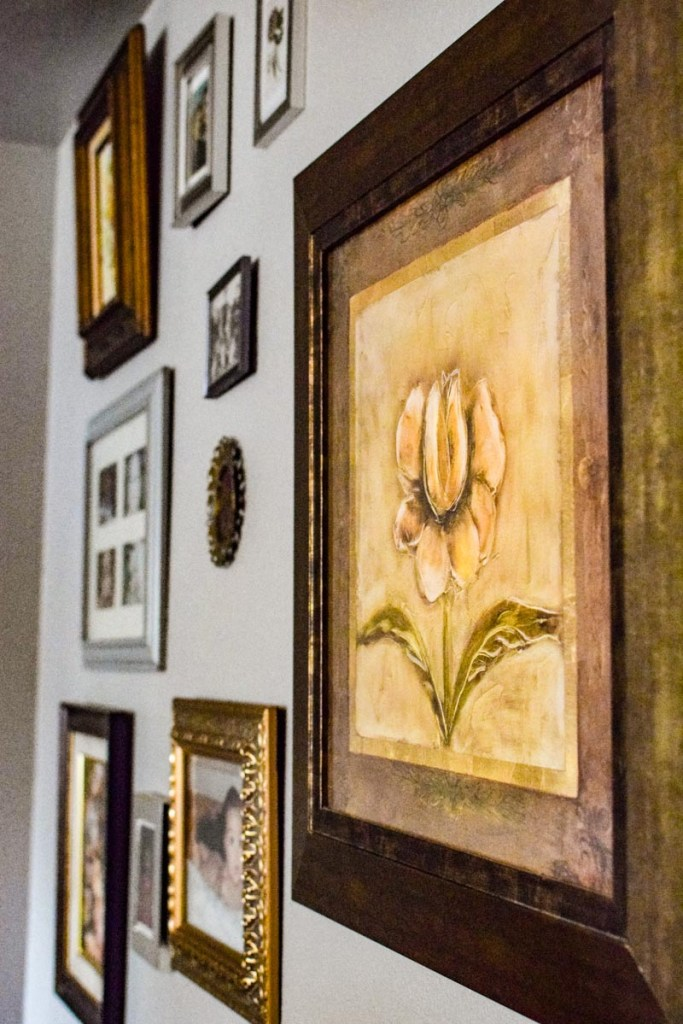 a gallery wall is a way to create a french  or old world look