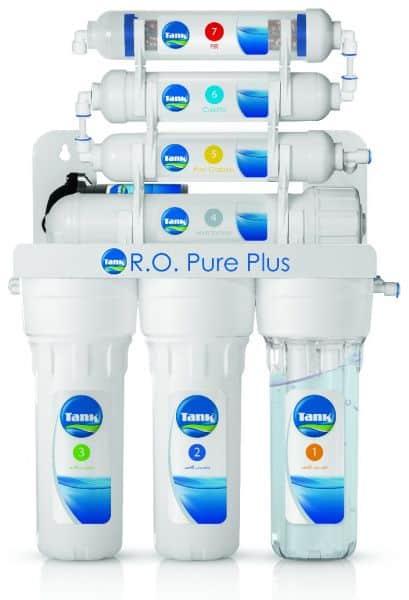 فلتر مياه تانك أر أو بيور بلس سبع مراحل