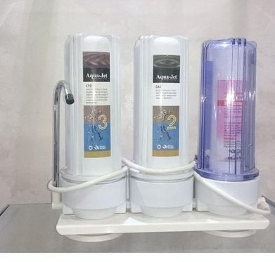 فلتر مياه اكوا جيت 3 مراحل
