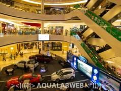 The Aeon mall in Phnom Penh