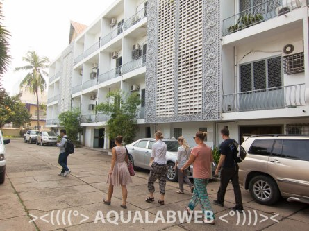 The main building of IFReDI - Phnom Penh