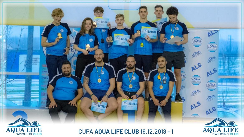 Cupa AQUA LIFE CLUB 16.12.2018