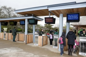 All Weather Digital Signage & Queue Management at Chester Zoo