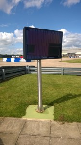 Outdoor Display Screen - Cadwell Race Track