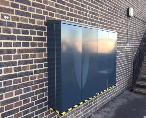 Outdoor TV Security Enclosure