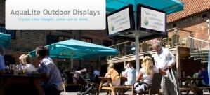 Outdoor TV Display Screens