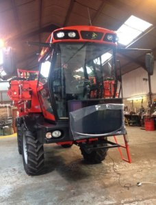 Agricultural Machinery TV Display Screens