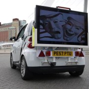 Mobile Digital Advertising Screens