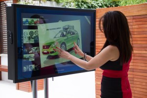 Touch TV Screen Display Monitors, Signs & Billboards