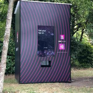 Advertising Kiosk Display - AIB Ireland