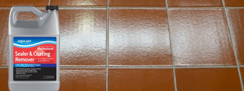 Aqua mix sealing coating stripper pics 110