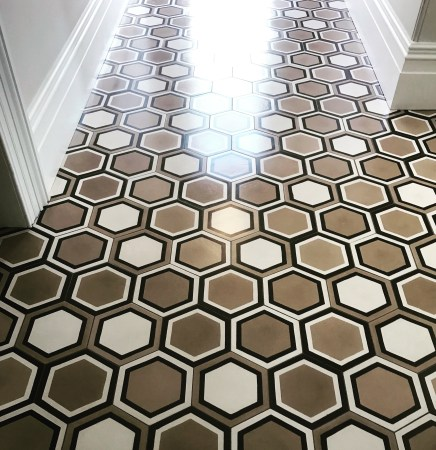 Encaustic Tiles sealed