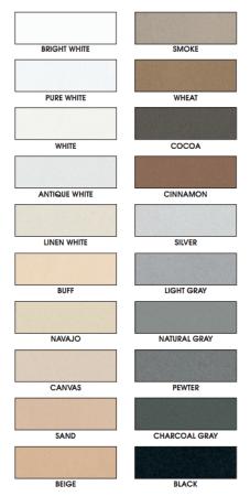 grout colorant colour chart