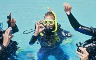Scuba Diver in Frankfurt