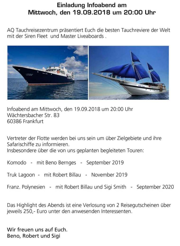 Info-Abend-Aquanaut-Reisen