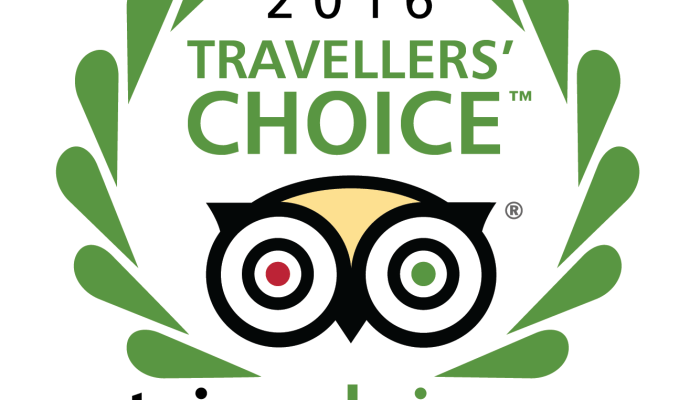 Aqua Wellness Resort wins the Trip Advisor Traveller's Choice award for the third year in a row