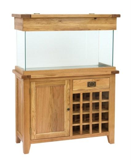 AQ110WR 110cm Wine Rack Aquarium (no wine)
