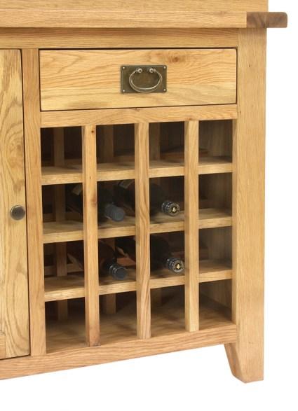 AQ110WR 110cm Wine Rack Aquarium Close Up