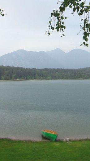 turner see, kärnten, boot, boat, bateau, see, lake, lac