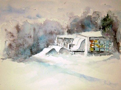 aquarell, watercolor, aquarelle, nationalpark, national park, parc national, thayatal, ausstellung, exhibition, exposition,