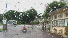 sightseeing, Normandie, regen, rain, pluie,