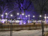 nacht, night, nuit, wien, vienna, eistraum, rathaus, rathausplatz, rathauspark, ringstrasse