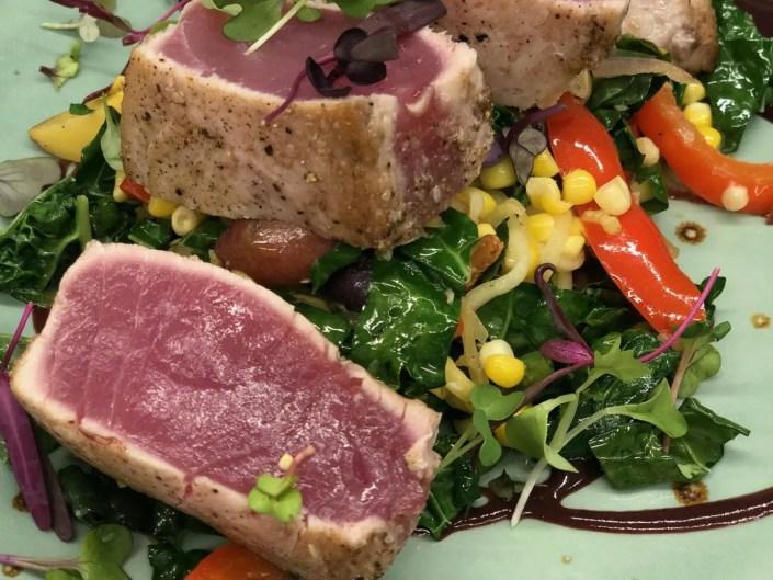 Fresh Local Big Eye Tuna at AQUA Restaurant