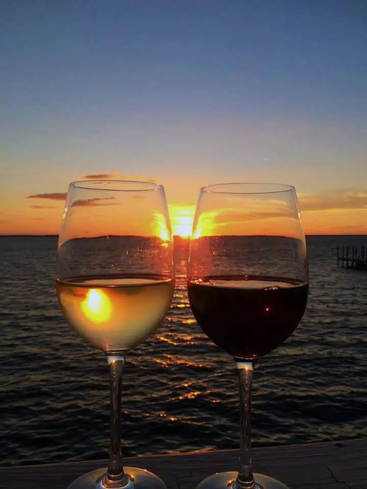 Enjoy Wine and Sunsets at AQUA Restaurant